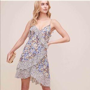 New w/ tags: Astr the label print mix mini dress